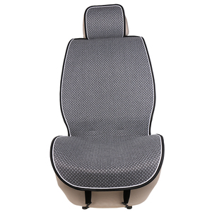 Image 1 - 1 Piece Car Front Seat Cover Pad Artificial Linen Automobile Single Cushion O SHI CAR Universal fit for Lada, Buick, Mazda, etc.