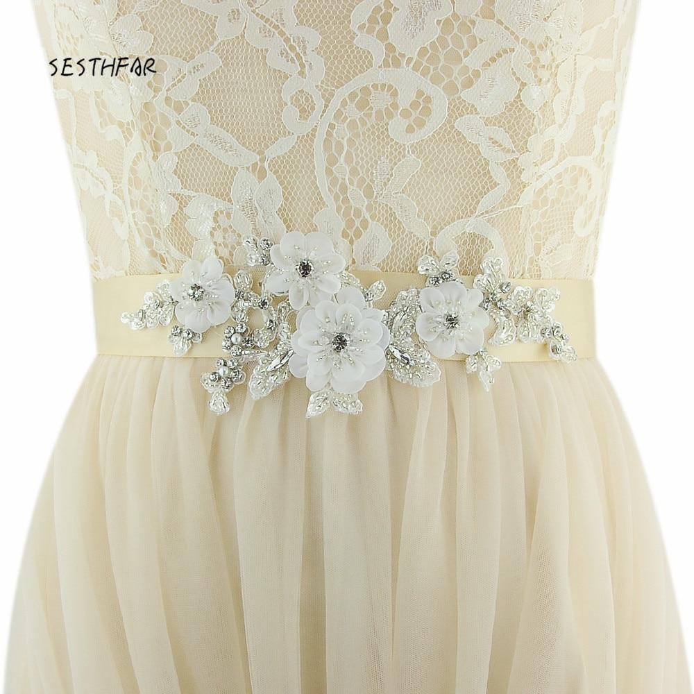 Diy Wedding Gowns: Aliexpress.com : Buy S358 Wedding Sashes Diy Wedding Dress