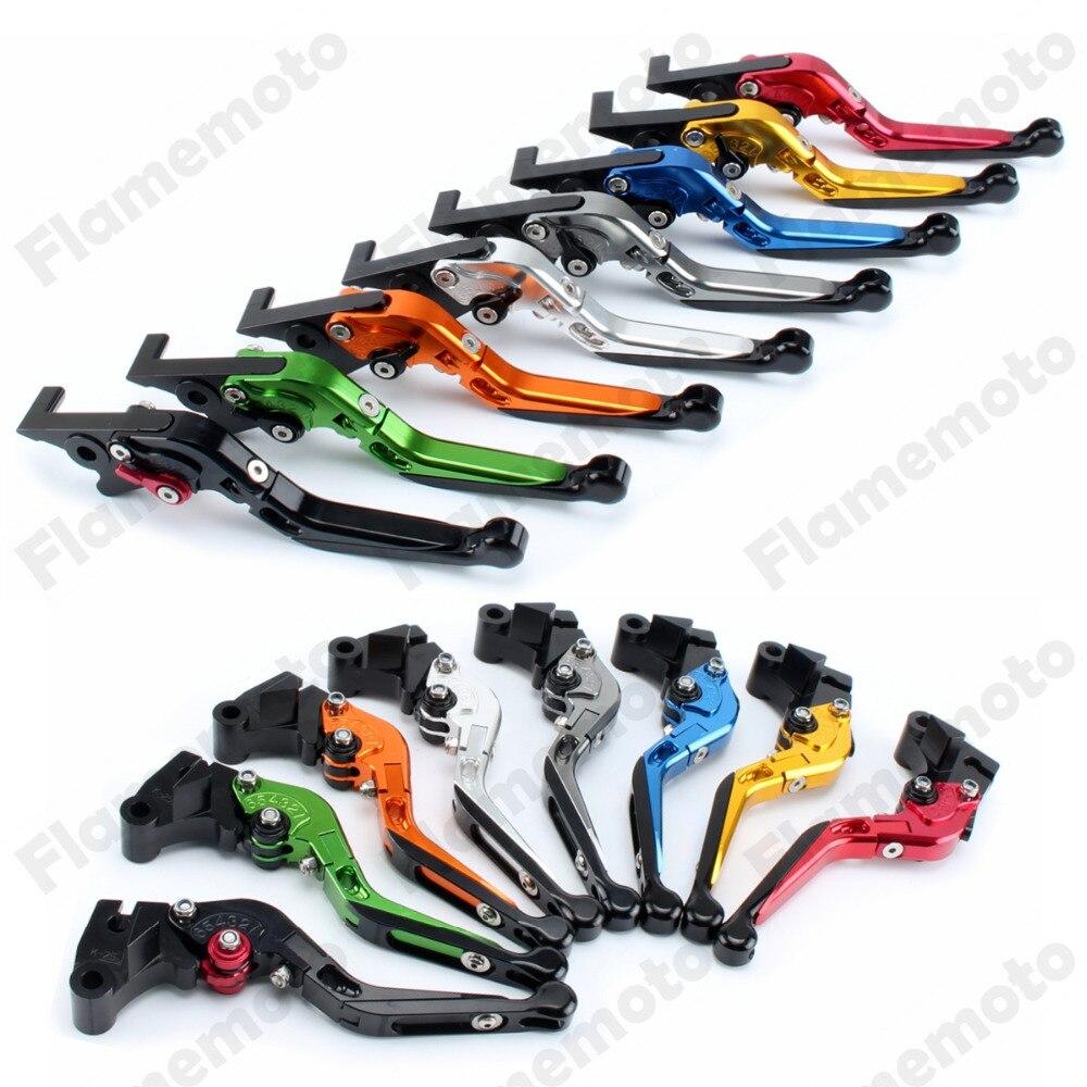 Motorcycle Fold Extendable CNC Brake Clutch Levers For BMW K1200 R Sport K1600 GTL K1300 S R GT R1200 R S RT SE GS ADVENTURE adjustable billet long folding brake clutch levers for bmw k1600 gt gtl 11 14 12 13 k1300 k1200 r s r1200 r rt s st gs 04 14 05