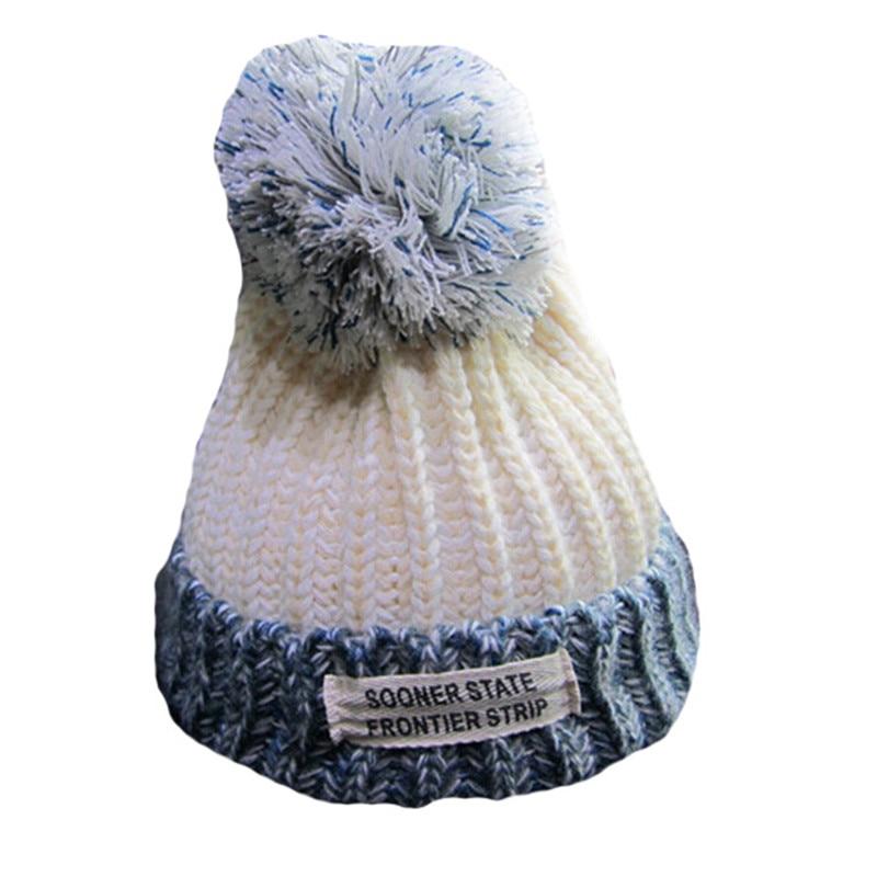 VISNXGI 2018 High Quality Women Spring Winter Hats Beanies Knitted Cap Crochet Hat Wool Ear Protect Casual Cap Chapeu Feminino