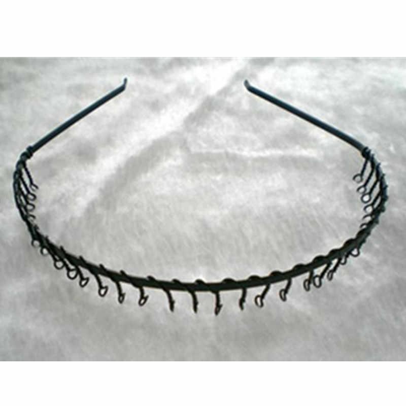 Toothed Soccer Football Band  Headband Black Portable  Gift Uz Sports Mens Hair