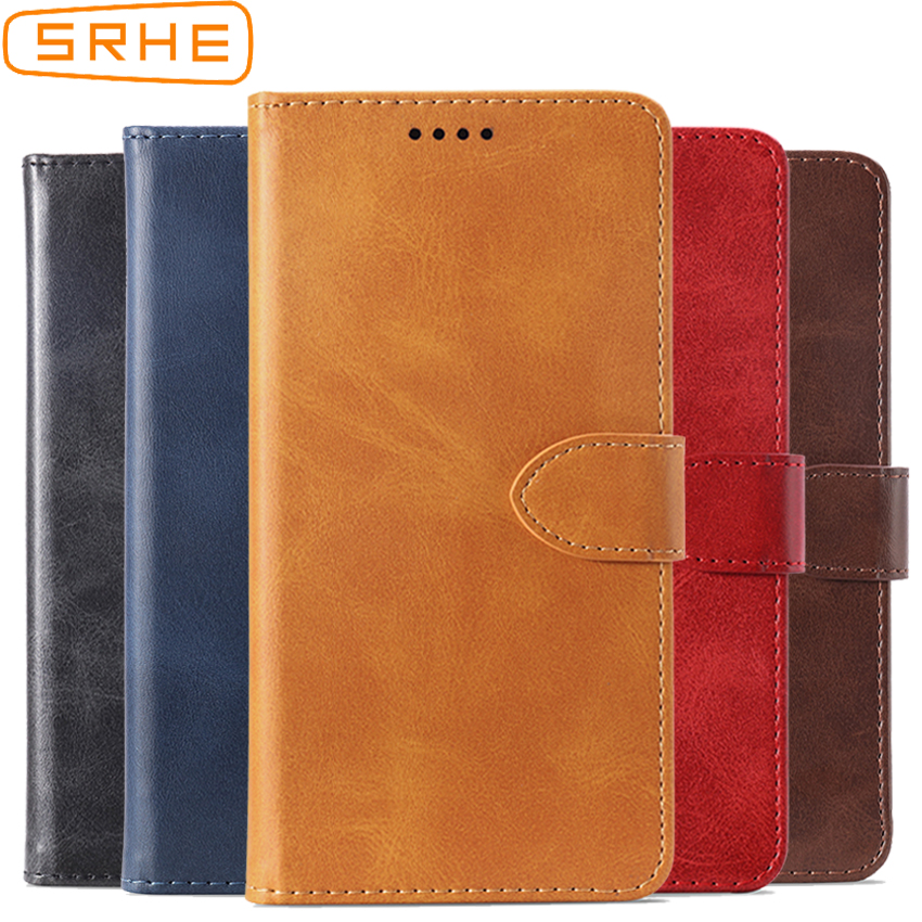 SRHE Flip Cover For Asus Zenfone live L1 ZA550KL Case Leather Silicone With Magnet Wallet Case For Zenfone live L1 ZA550KL Cover