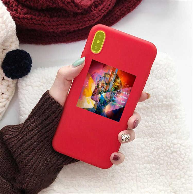 P! nk różowy 2019 piękny uraz boli 2b ludzki cukierkowy kolor tpu skrzynki telefon dla iphone X 7 XR XSMA 11 11Pro 11ProMax skrzynki pokrywa