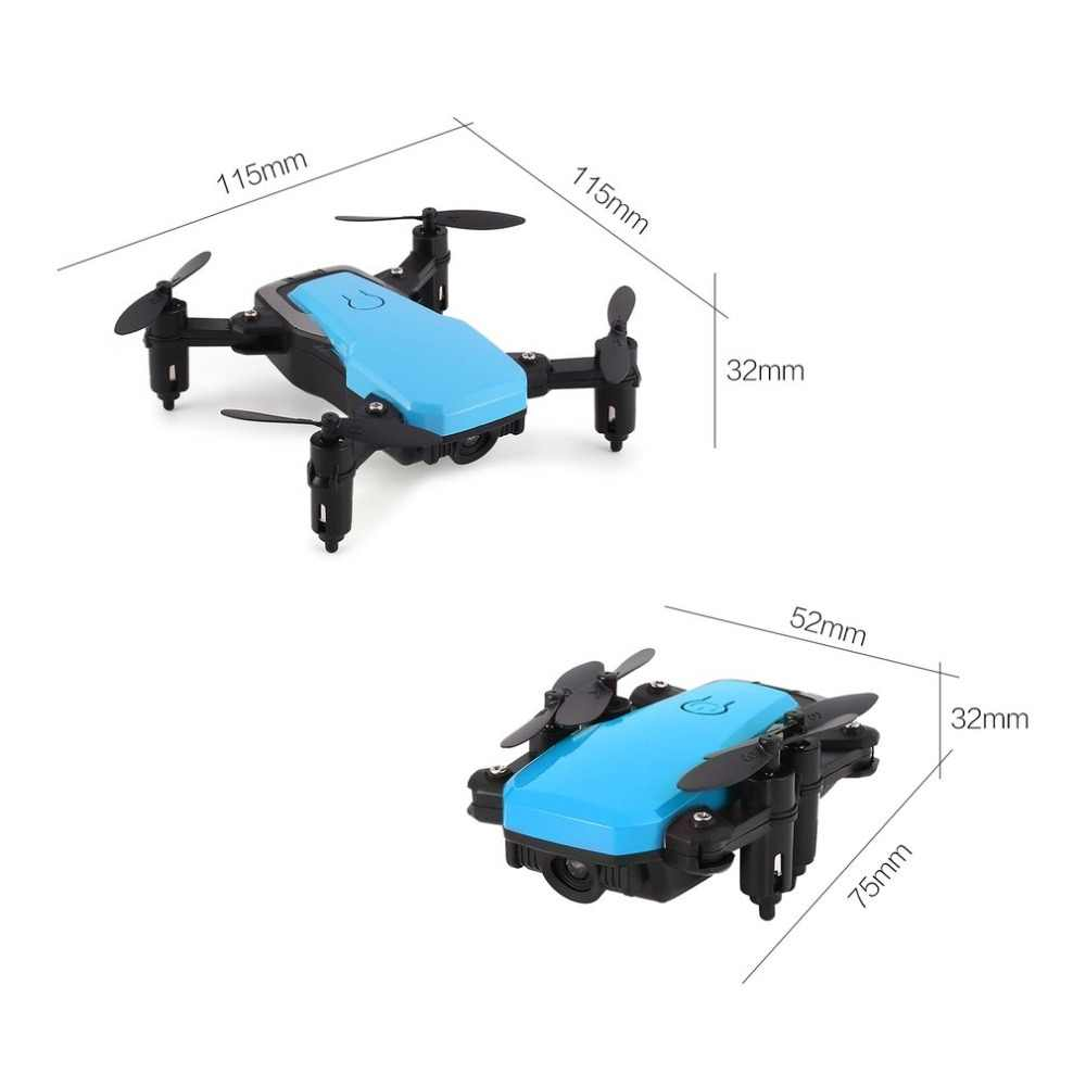 SG800 2 4Ghz Mini Pocket Camera Drone Foldable RC Quadcopter Aircraft  Altitude Hold One Key Return Headless Mode 3D Flip