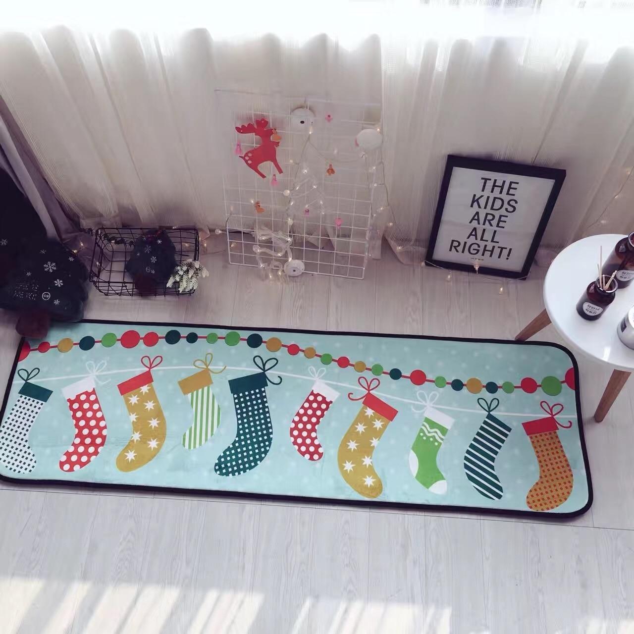 Winlife Estilo Dos Desenhos Animados Criativo Presente De Natal  -> Tapetes Desenhos