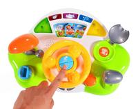 LeadingStar Driving Steering Wheel Toys For Toddlers With Music And Sound