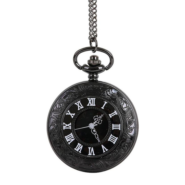 Moment # L05 2018 Fashion Vintage Chain Retro The Greatest Pocket Watch Necklace