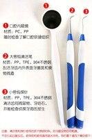 3 STKS Oral Care Dental Tool Kit Tanden Schoon Gereedschap LED Dental Care Tand Mondhygiëne Dental Kit Tanden Whitening gratis verzending