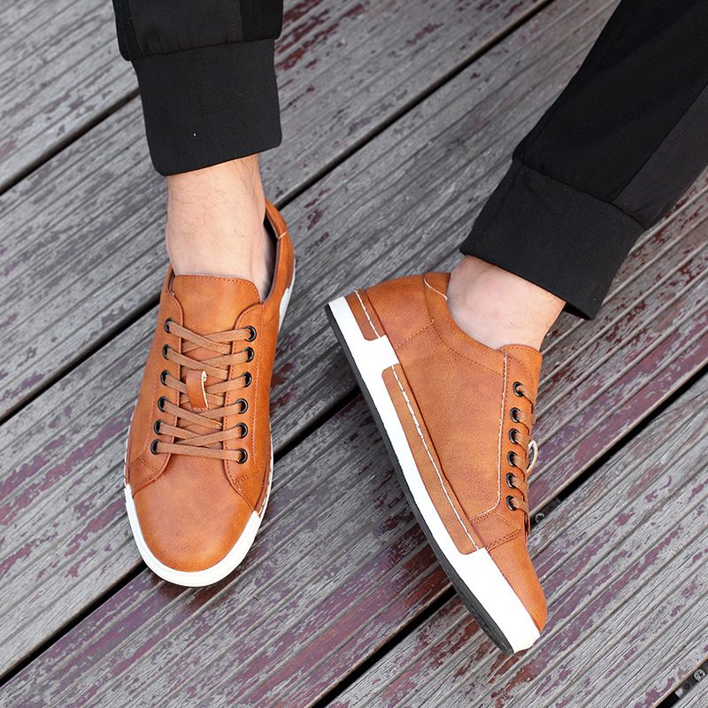 Nuevo Style Hombre Retro Style Hombre Zapatos, High Quality Hombre Style Casual Zapatos, Lace Up Casual S 51f363