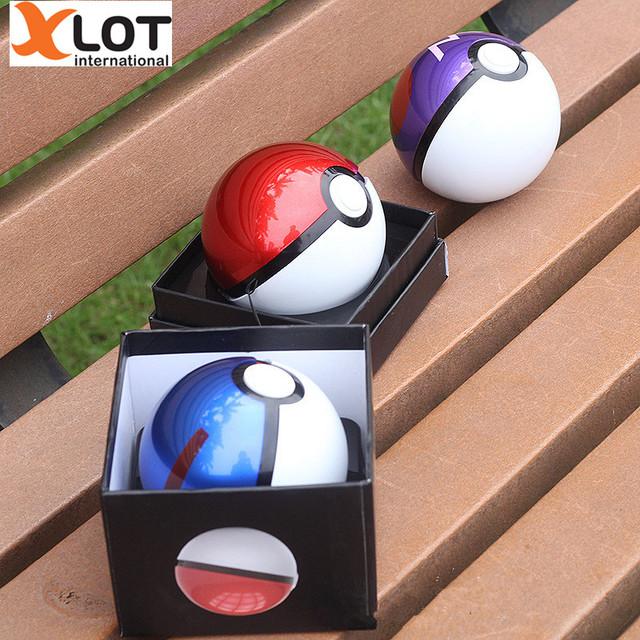 12000 mAh Pokeball Ir Pokeball banco de Potência Powerbank Bateria Externa LED Rápida Taxa de Telefone Banco Do Poder Dos Desenhos Animados 3D