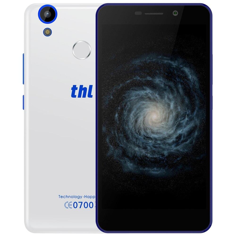 Цена за Thl t9 pro 3000 мАч 4 г смартфон 5.5 дюймов mtk6737 android 6.0 Quad Core Смартфон 1.2 ГБ RAM 16 ГБ ROM Сканер Мобильный Телефон