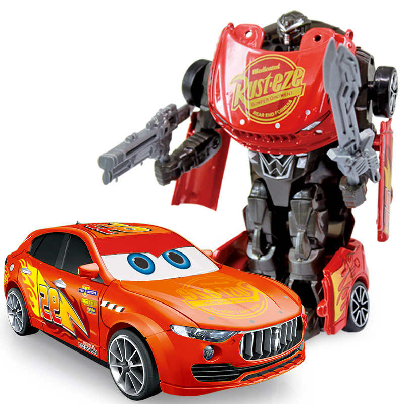 1 43 Anime Figure Toys Transformation Alloy Car Models Robot Action Toy Action figure Kids Education