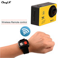 4 K Câmera WI-FI Ultra HD Ação À Prova D' Água Filmadoras Capacete Ação ir pro Esporte câmera Com 2.4G Remoto Sem Fio controle-3233