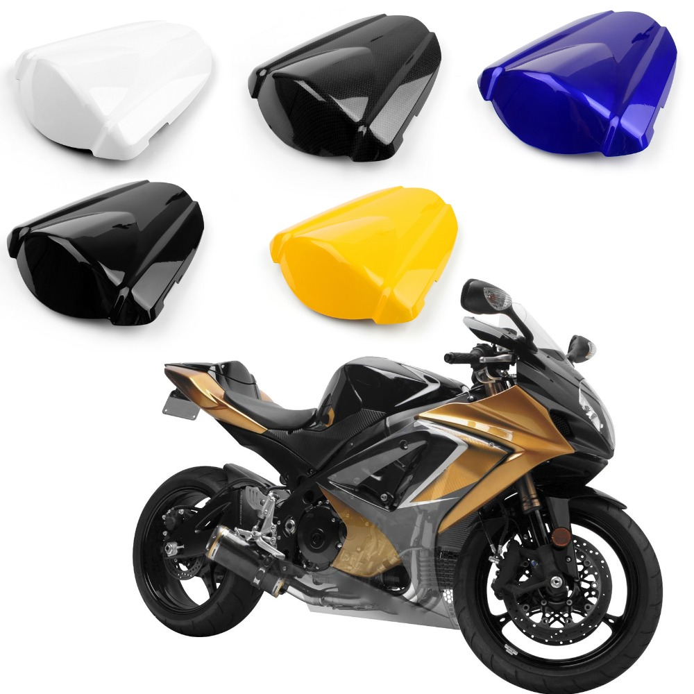 Areyourshop Motorcycle ABS Plastic Rear Seat Cover Cowl For Suzuki GSXR1000 2007-2008 Motorbike Part New Arrival Styling