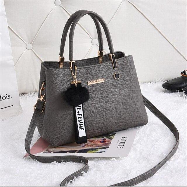 21club Brand New Designer PU Leather Women Handbag Female Shoulder Bag Girls Messenger bag Casual Women Shopping Work Handbag 1