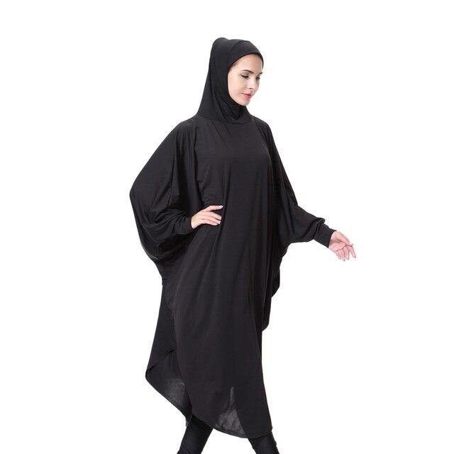 afbb56b6b0be Musulman Abaya Hijab Niqab Islamique Hijab Écharpe Femme L islam Jilbab Cap  Foulard Lait Fiber