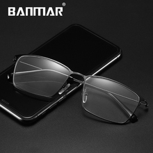 BANMAR Eyewear Anti Blue Light Gaming Metal Glasses Women Men Screen Fatigue Computer Protection Goggles A5011
