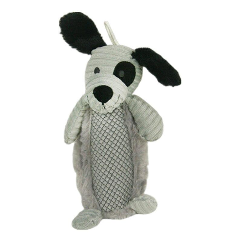 ed0ca58aa2 ≧Hellomoon PET Puppy Chew squeaker Squeaky Plush sonido Juguetes - a185