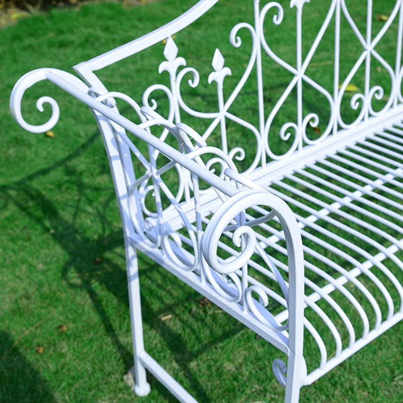 Elegant Double Chairs Leisure Lounge Bench Wedding Photo Studio Chairs Outdoor  Furniture Long Chairs In Patio Benches