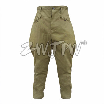 CHINESE ARMY RIDING BREECHES TYPE 55 SPRING COTTON  MEN New Traditional Pants  Baggy Pants Riding Sports Breeches CN/503106