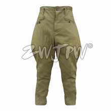 CHINESE ARMY RIDING BREECHES TYPE 55 SPRING COTTON  MEN New Traditional Pants  Baggy Pants Riding Sports Breeches CN/503106(China)