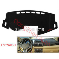 For TOYOTA YARIS L RHD Right Hand Drive Car Dashboard Avoid Light Pad Instrument Platform Desk