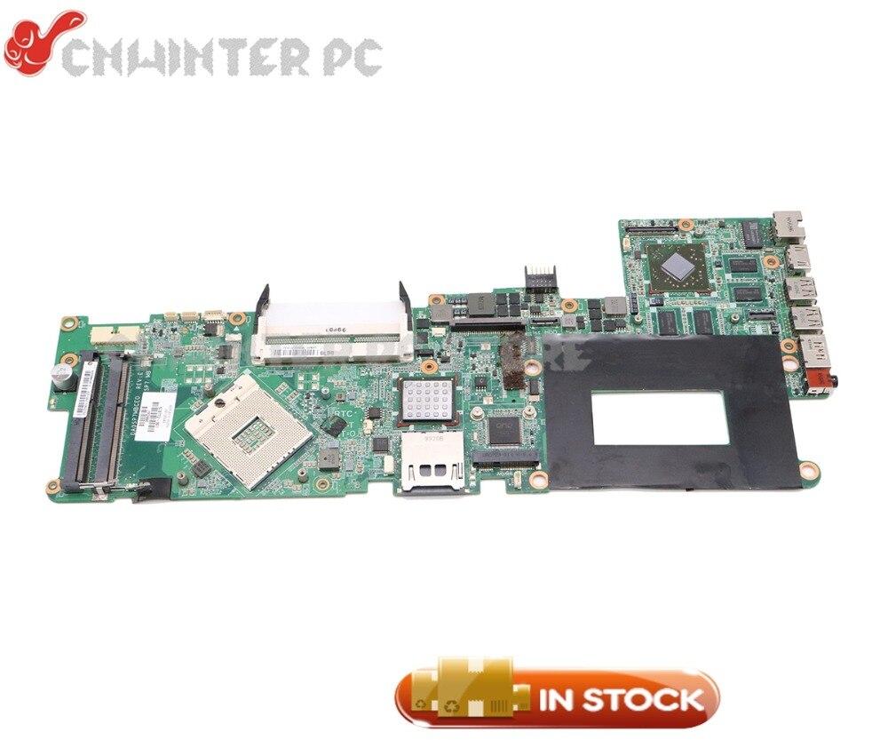 NOKOTION Laptop Motherboard For HP ENVY 15 MAIN BOARD PM55 DDR3 576772-001 DA0SP7MBCE0 1GB graphics цены