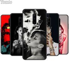 Phone Case for Oneplus 7 7 Pro 6 6T 5T Soft TPU Case for Oneplus 7 7Pro Black Silicone Cover Shell Rihanna
