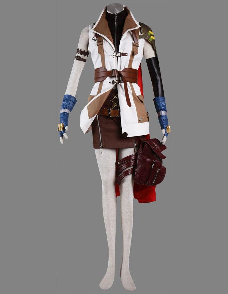 Livraison Gratuite Final Fantasy XIII 13 Foudre Jeu Cosplay ...