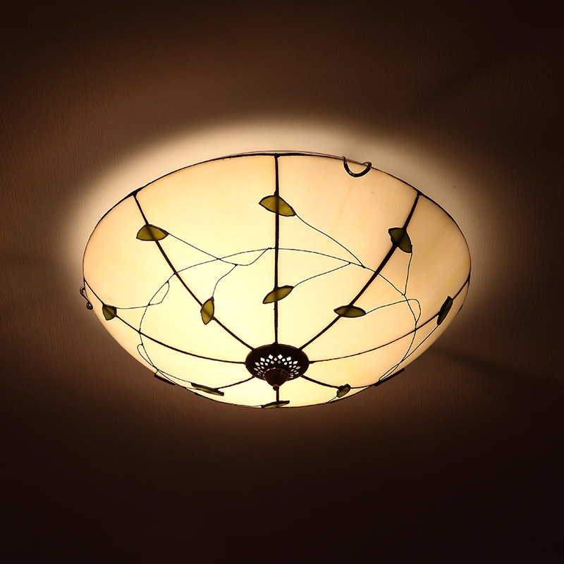 Mediterranean tiffany style ceiling light stained glass dining room bedroom bar ceiling light voor eetkamer LED light tiffany stained glass ceiling lamps in rural southeastern united states bar study bedroom ceiling lamp df37