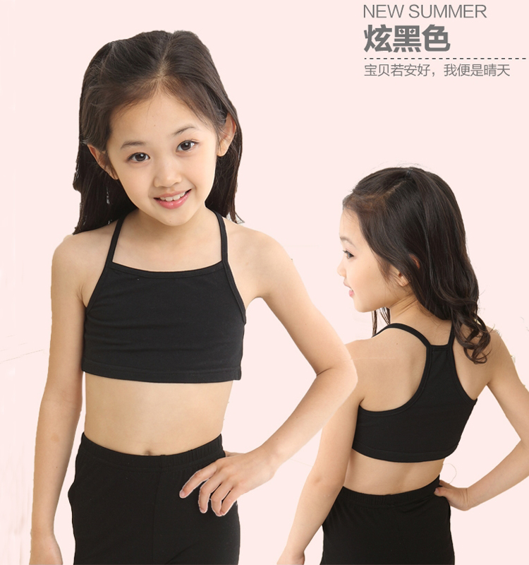 Candy Color Kids Underwear Model Cotton Tops For Girls Teenager Girls  Camisole Kids Singlets Children Undershirt Baby Clothing|Tanks & Camis| -  AliExpress
