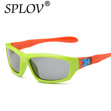 2017 TR90 Boys Girls Polarized Sunglasses Children Sun Glasses Kids Eyewear Shades Baby Safety TAC Goggle Infant oculos de sol