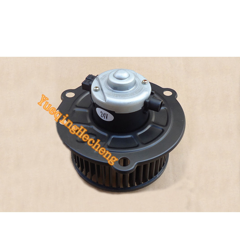 Replacement For Excavator SK200-3 Blower Motor 24V new rotation solenoid valve kwe5k 31 g24ya50 for excavator sk200 6e