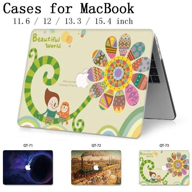 Nouveau pour ordinateur portable chaud MacBook Case housse housse tablette sacs pour MacBook Air Pro Retina 11 12 13 15 13.3 15.4 pouces Torba