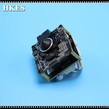 HKES Hot Selling 8pcs/lot New Arrival POE CCTV Camera Module with 3.7mm LENS IP Cam POE Mini