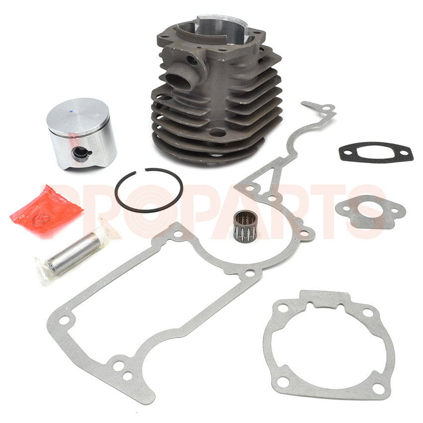 Cylinder Piston Bearing Gasket Kit For HUSQVARNA 51 Rancher 45MM Chainsaw 503 16 91-71  45 2mm cylinder piston gasket assy chinese 5800 58cc chainsaw engine rebuilt kit