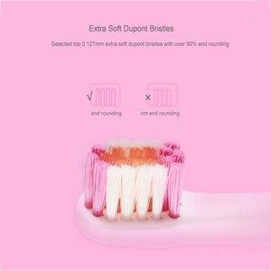 Image 3 - Seago 소닉 칫솔 어린이 방수 브러쉬 치아 전기 치과 브러쉬 3 12 세 어린이 전동 칫솔 ek8