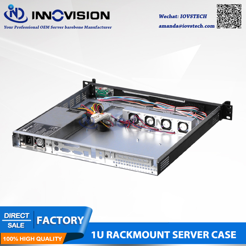 Elegant Compact 1U server case RC1420L 1u computer case 1U rack - Industrial Computers and Accessories - Photo 4