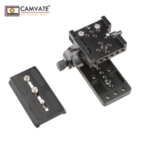 Image 4 - CAMVATE Quick Release Mount Base QR Plate for Manfrotto Standard Accessory C1437 camera photography accessories