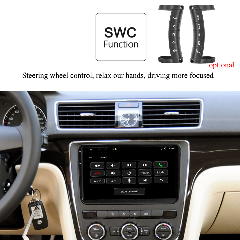 VW 9 inch Android 10