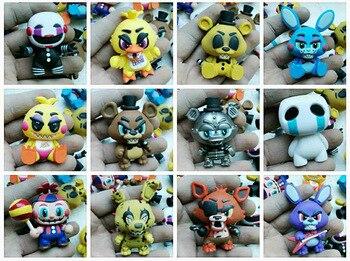 Оригинальный imperfect Funko Mystery Minis: полночь пять ночей на медведь Фредди Виниловая фигурка Коллекционная модель свободная игрушка