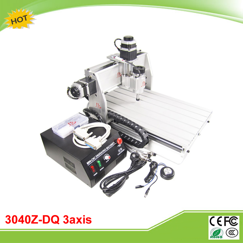 CNC 3040Z-DQ 3 axis mini CNC milling machine ball screw free tax to RU cnc 3040z dq 3 aixs with ball screw engraving machine