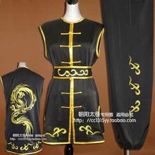 Customize Chinese wushu uniform Kungfu clothing Martial arts suit nanquan clothes dragon embroidery men children girl boy women