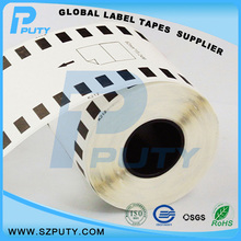Производитель прямых продаж совместимость DK-22212 непрерывный длина 62 мм * 15.24 м этикетки для QL тепловой этикетки