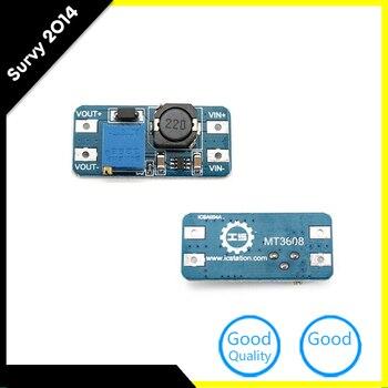 5 шт./лот MT3608 DC-DC регулируемые Boost, модуль 2A Boost Step Up Модуль с Micro USB 2 В-24 В до 5 В 9 В 12 В 28 В LM2577
