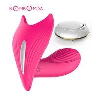 7 Speed Wireless Remote Vibrator USB Charged Female Masturbation Strapless Strapon G-spot Dildo Vibrator Adult Erotic Sex Toys