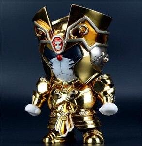 Image 4 - 闘士星矢ゴールドセイント牡牛座ジェミニ射手座蠍座牡羊座レオdoracat 15センチメートルアクションフィギュアおもちゃコミックアニメロボットドラえもんコスプレ