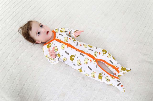 0d9ca0fc1b24 Online Shop 3PCS Lot Newborn Baby Cotton Rompers Infant Long Sleeve ...