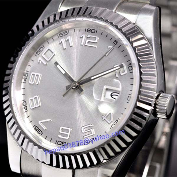 Parnis watch 40mm White dial Luminous Automatic Self Wind movement Men s watch P25 relogio masculino