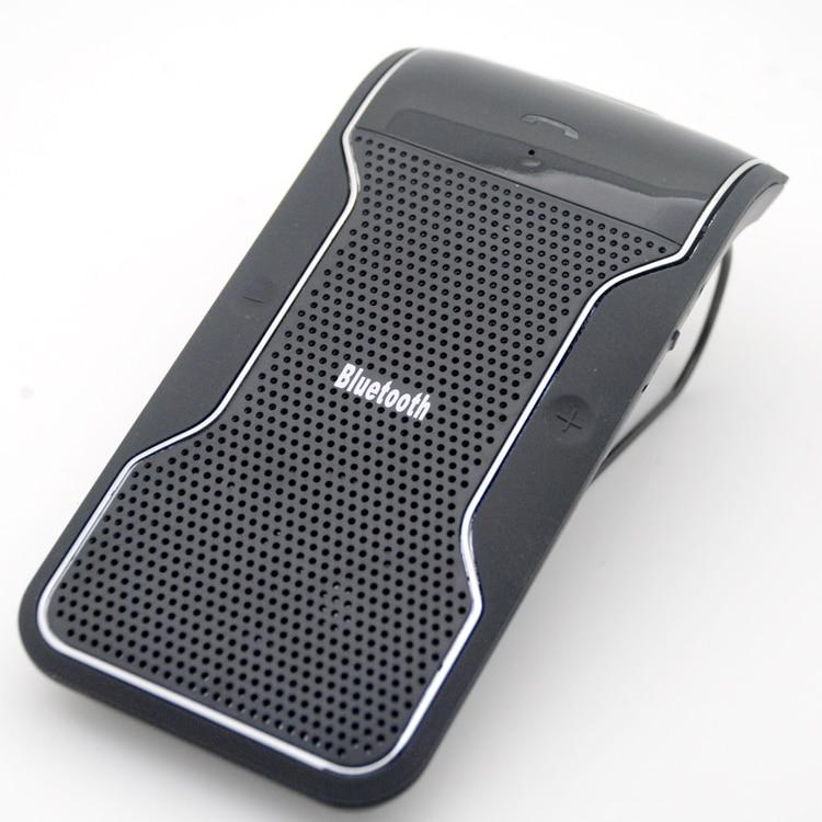 Prix pour Livraison gratuite New sans fil Bluetooth mains libres haut - parleur de voiture avec Kit chargeur de voiture Bluetooth mains Kit gratuitement